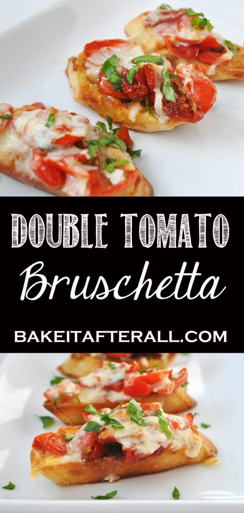 Double Tomato Bruschetta Pin