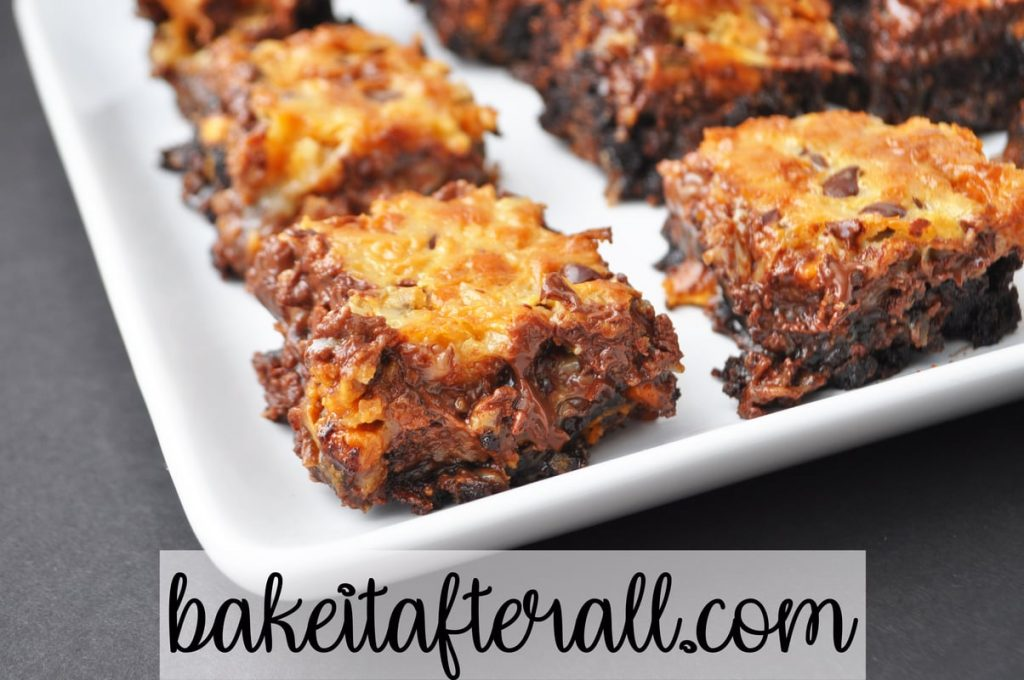 coconut butterscotch chip brownies