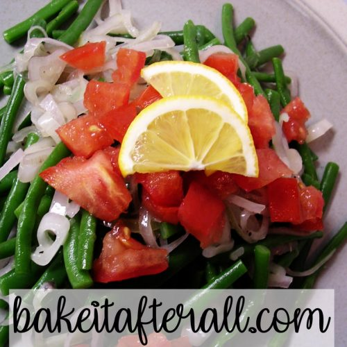 Haricots Verts with Shallots