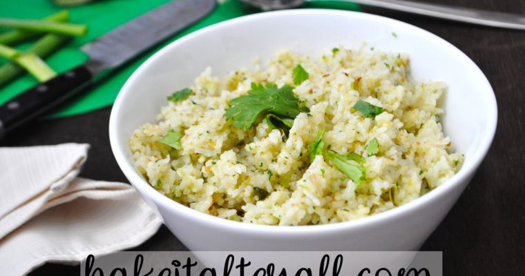Cilantro Coconut Rice