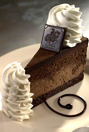 cheesecake factory godiva chocolate cheesecake