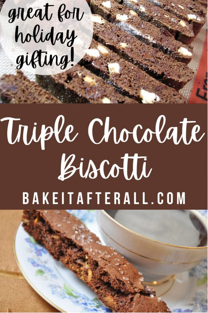 Triple Chocolate Biscotti Pin