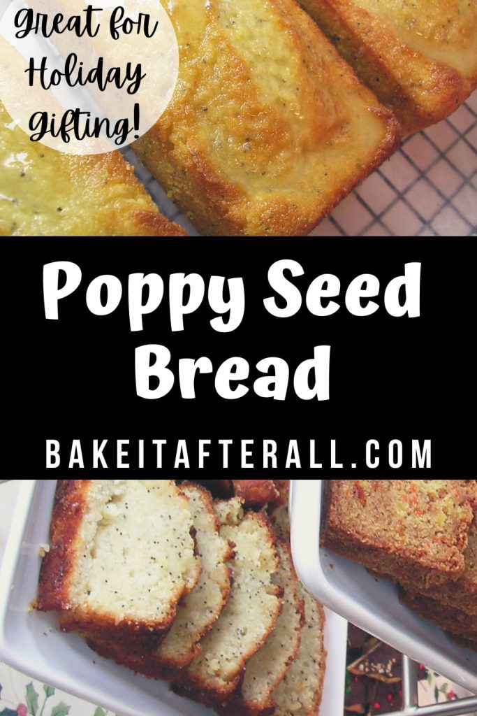 Poppy Seed Bread Pin