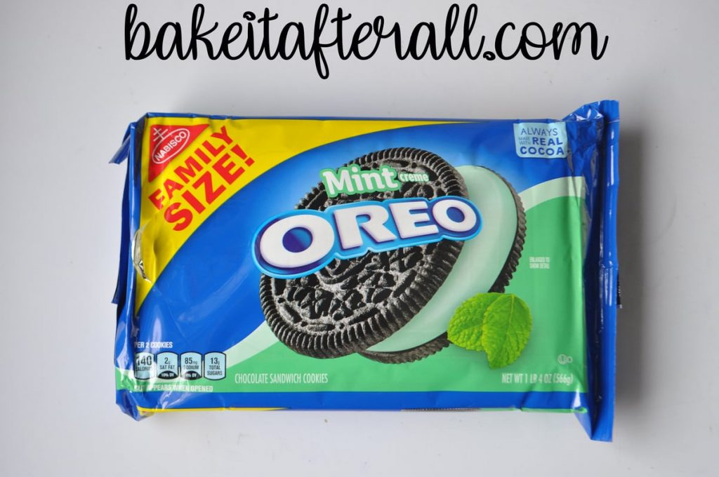 Mint oreo package for Peppermint Oreo Truffles