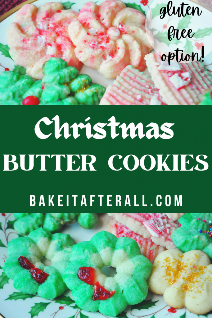 Christmas Butter Cookies Pin