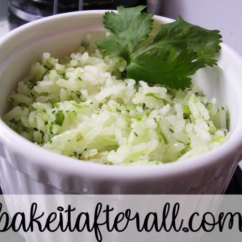 cilantro coconut lime rice