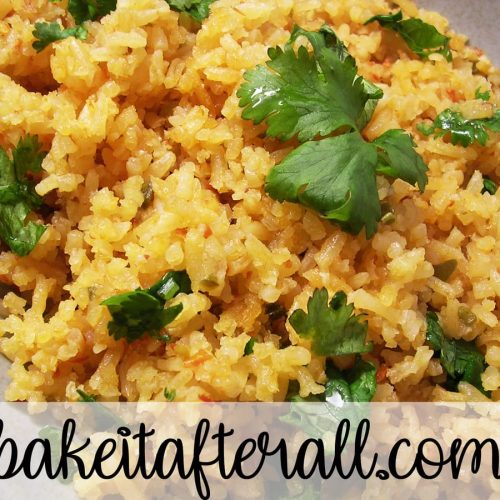 Mexican rice homemade