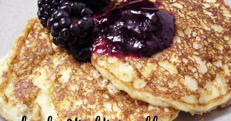 Ricotta Pancakes – Two Ways