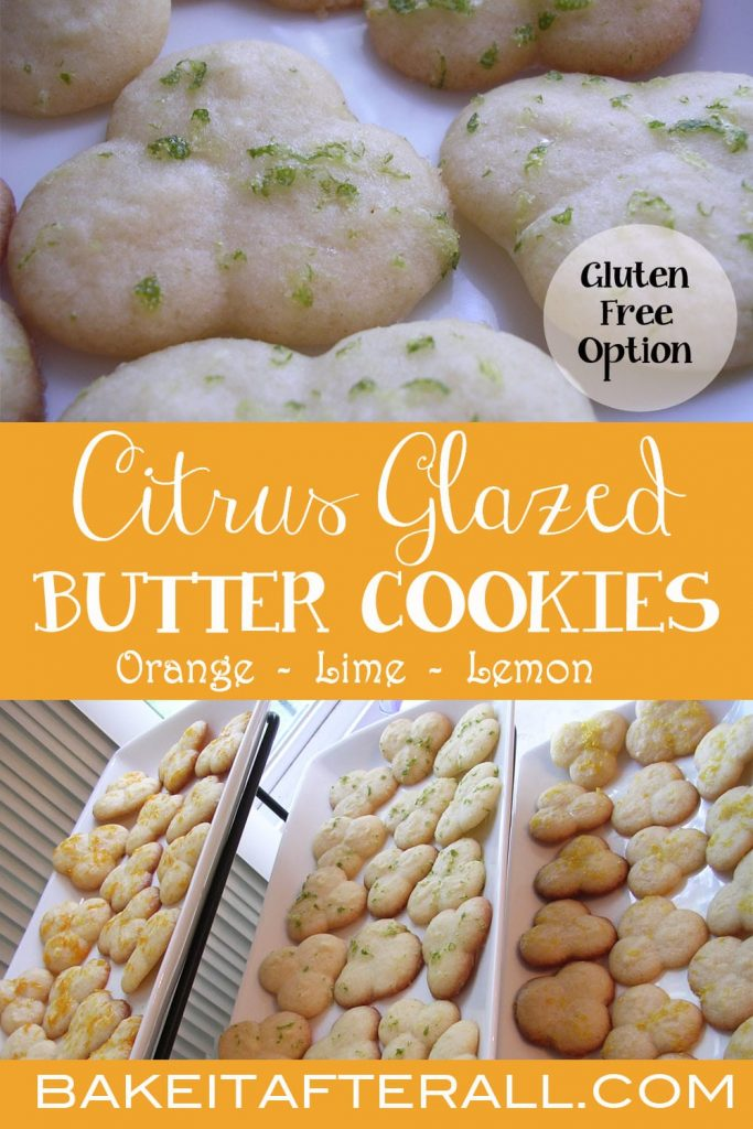 Citrus Glazed Butter Cookies PIN