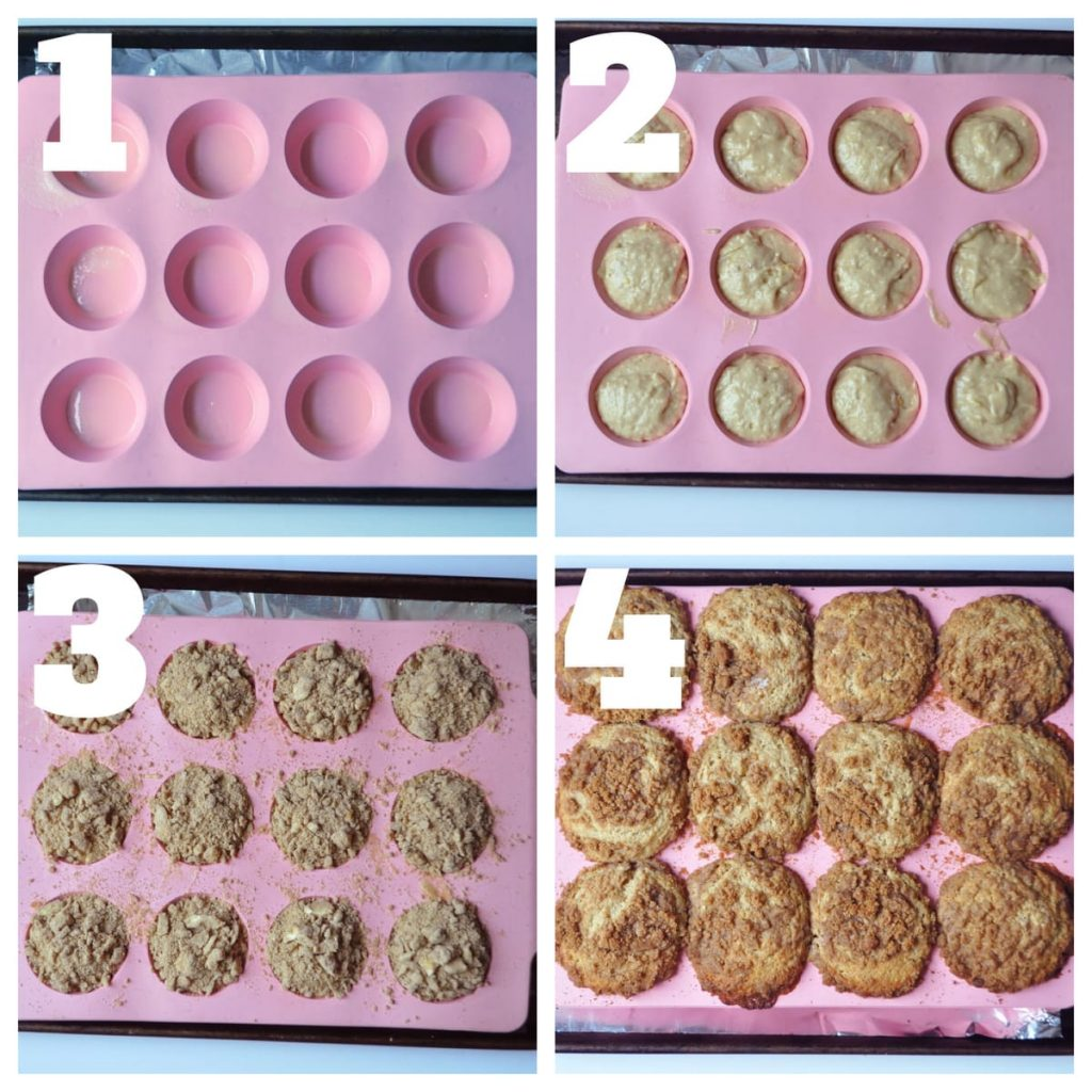 muffin assembly steps