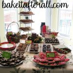 Holiday Party Dessert Table
