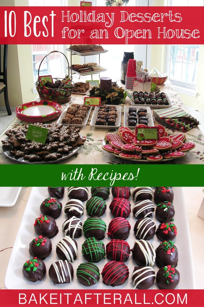 10 Best Holiday Recipes for a Holiday Open House Pin