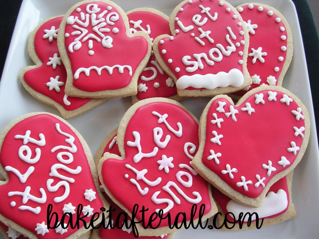 brown sugar and spice cookies decorated with royal icing