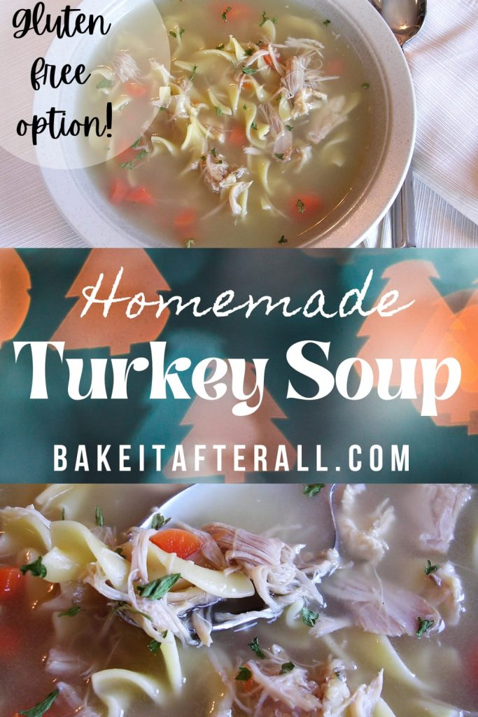 Homemade Turkey Soup Pin