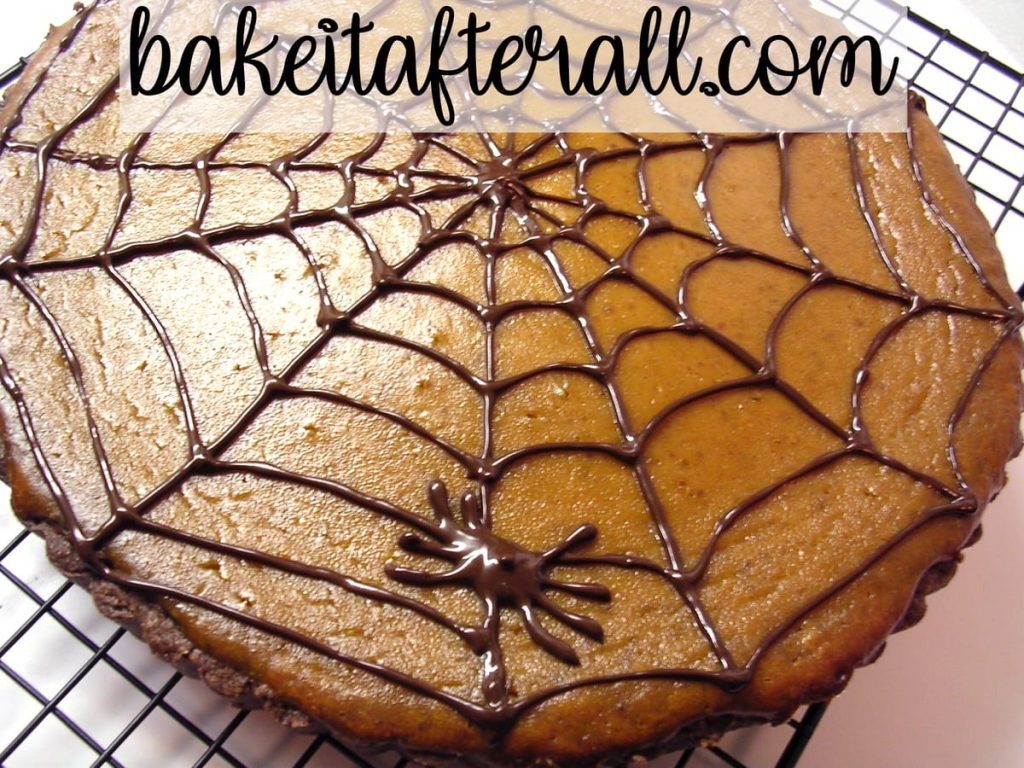 pumpkin chocolate tart
