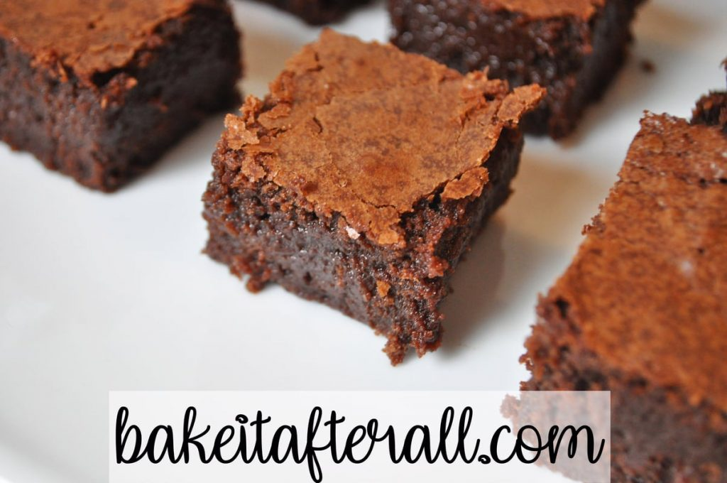 best gooey french brownies