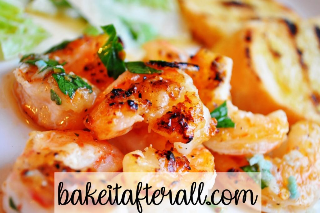 grilled shrimp spicy garlic lemon sauce