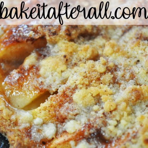 apple crumble pizza pie