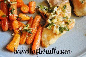 Garlic Braised Chicken Thighs with Carrots