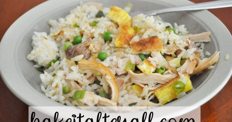 Soy Free Chicken Fried Rice (MSPI)
