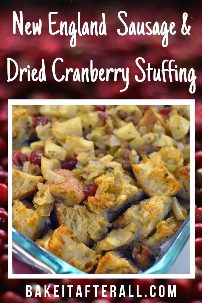 New England Sausage and Dried Cranberry Stuffing Pin