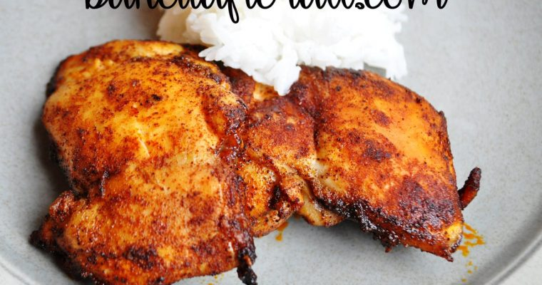 Spicy Honey Brushed Chicken Thighs (MSPI)