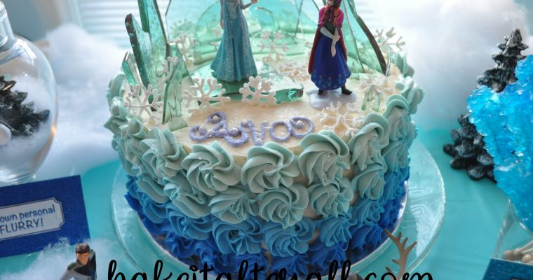 FROZEN Cake and Birthday Party