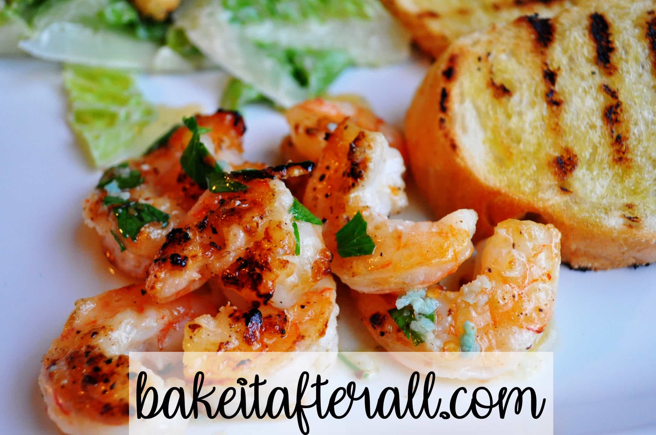 grilled shrimp spicy lemon garlic sauce