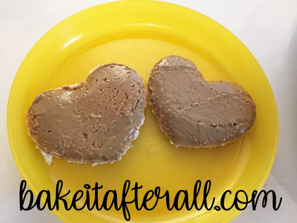 Tea Party Ideas for Kids peanut butter toast cut into heart shapes