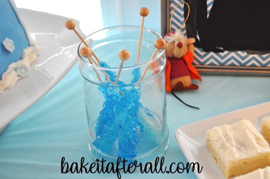 Cinderella dessert table party
