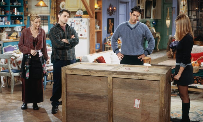 friends Chandler in the box episode