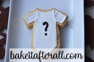 sugar cookie gender reveal