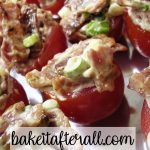 tomato bacon appetizer bites