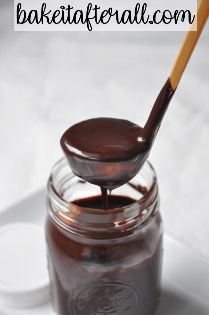 homemade ben & Jerry's hot fudge sauce