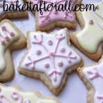 pastel christmas sugar cookies