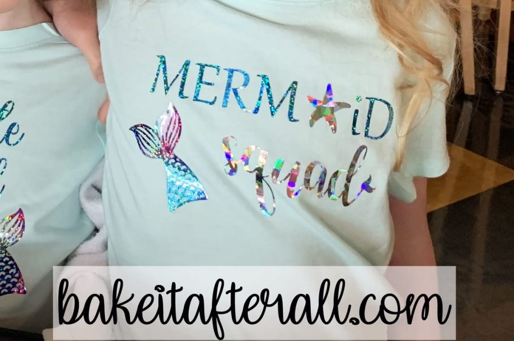 Mermaid Squad t shirt