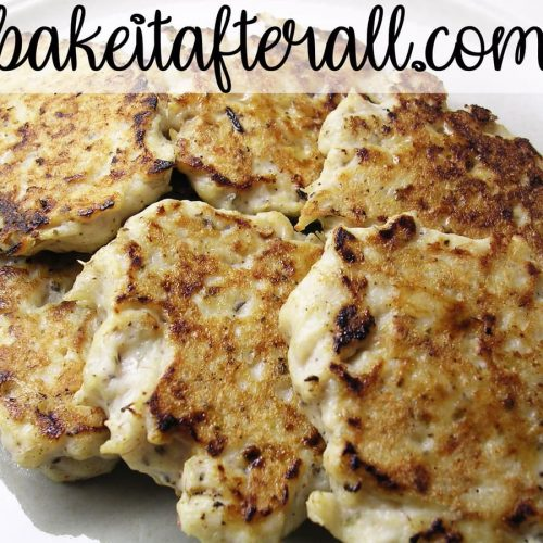 breakfast chicken sausage patties