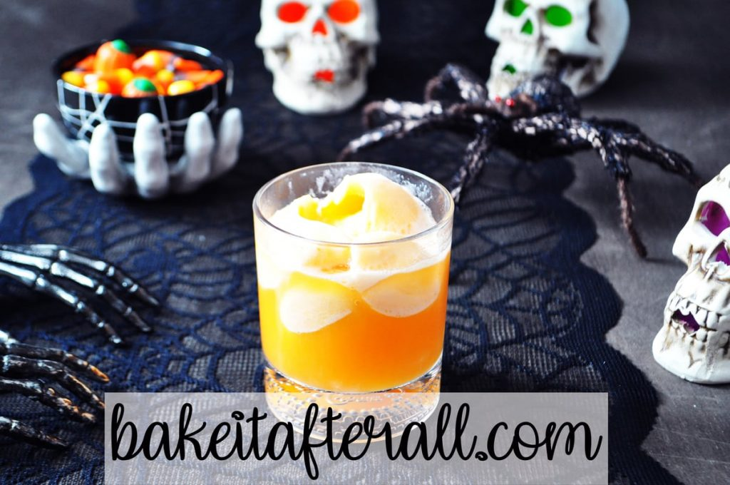 witches brew punch halloween punch in a glass