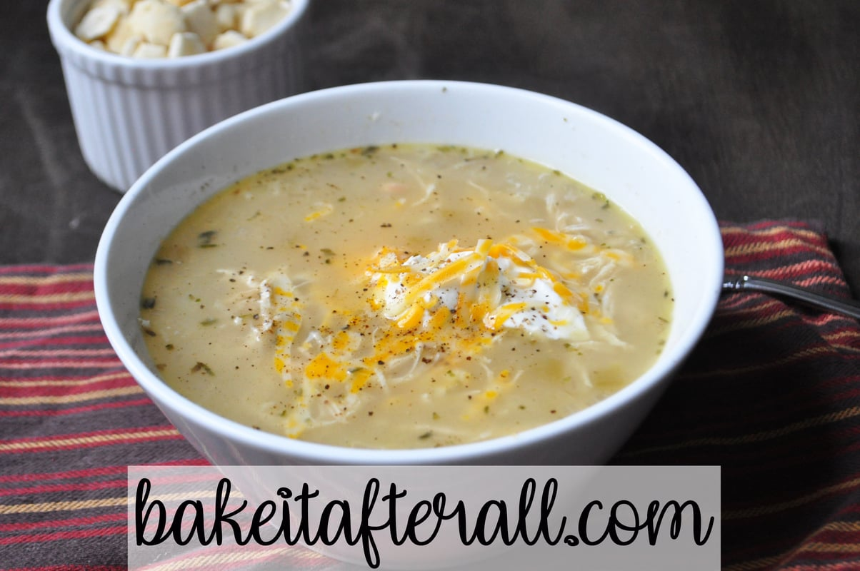 Low Carb White Chicken Chili You Re Gonna Bake It After All