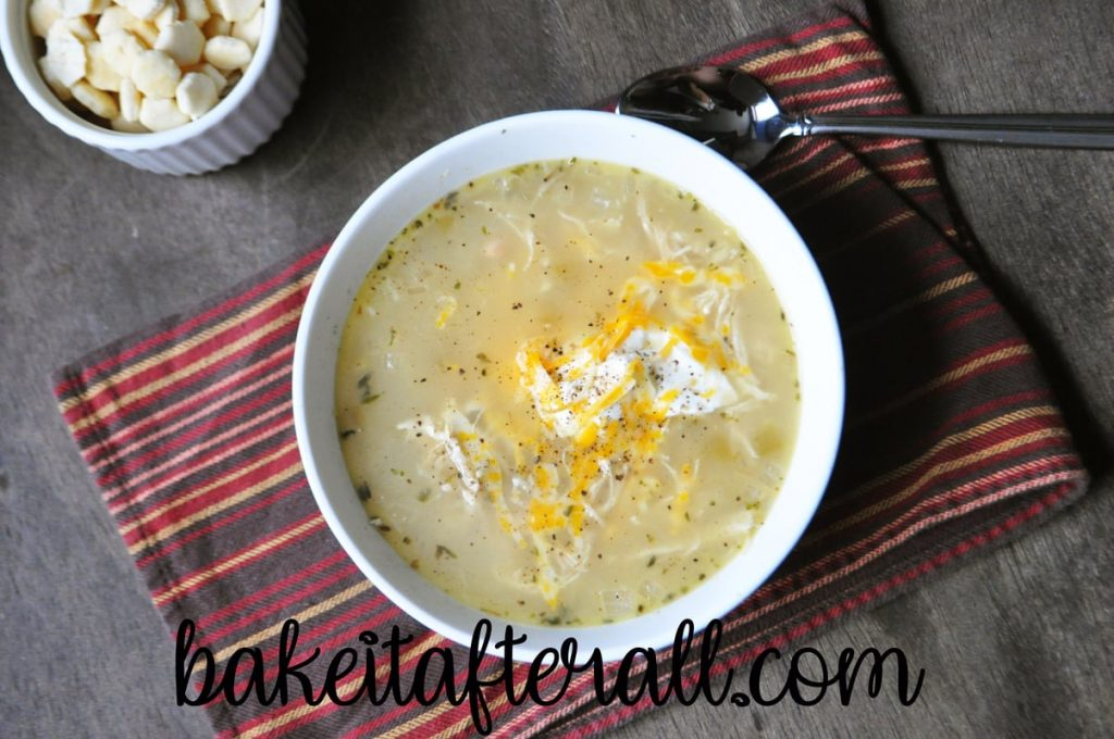 low carb white chicken chili