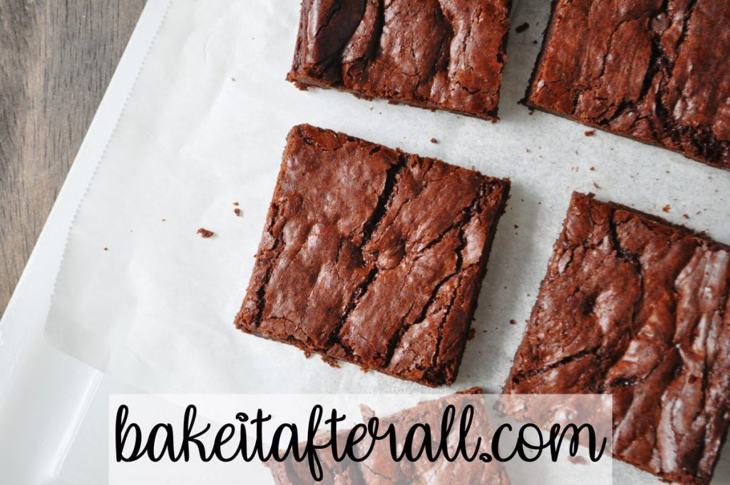 outrageous brownies on a cutting board