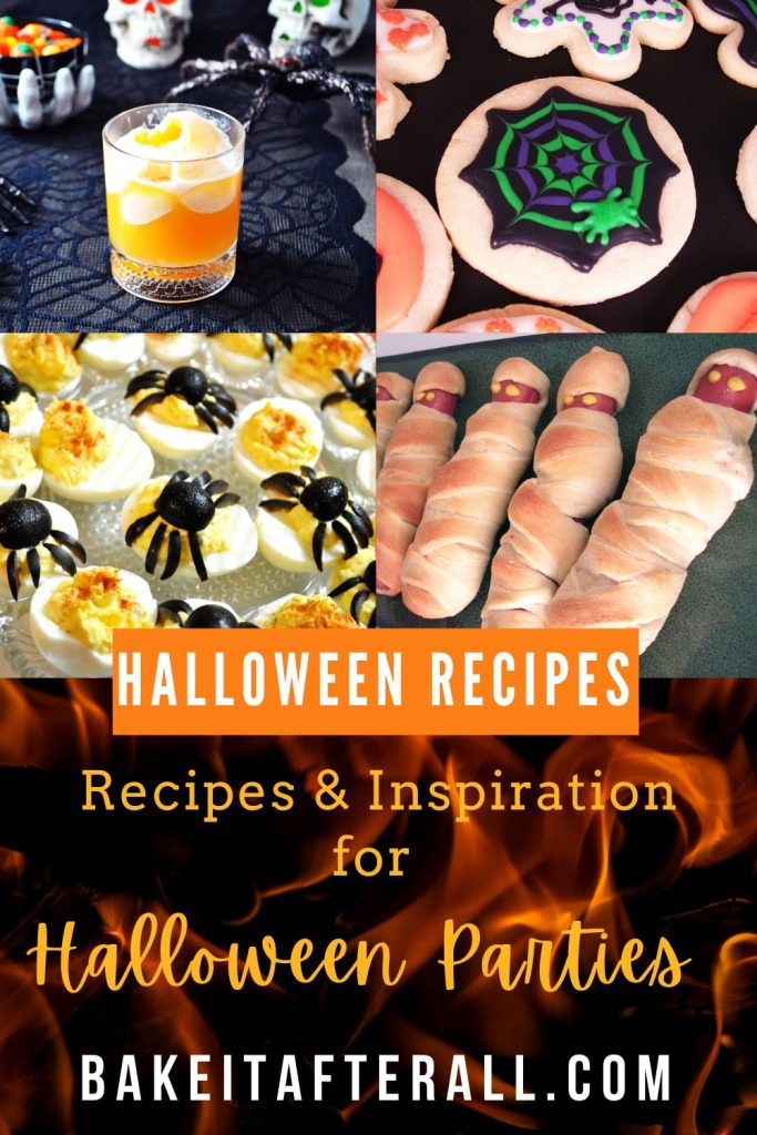 Halloween Party Recipes Pin