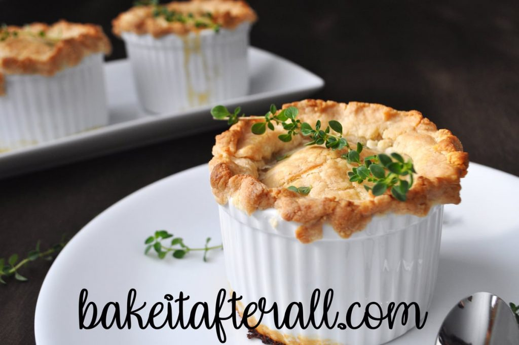 individual ramekins of Costco Chicken Pot Pie