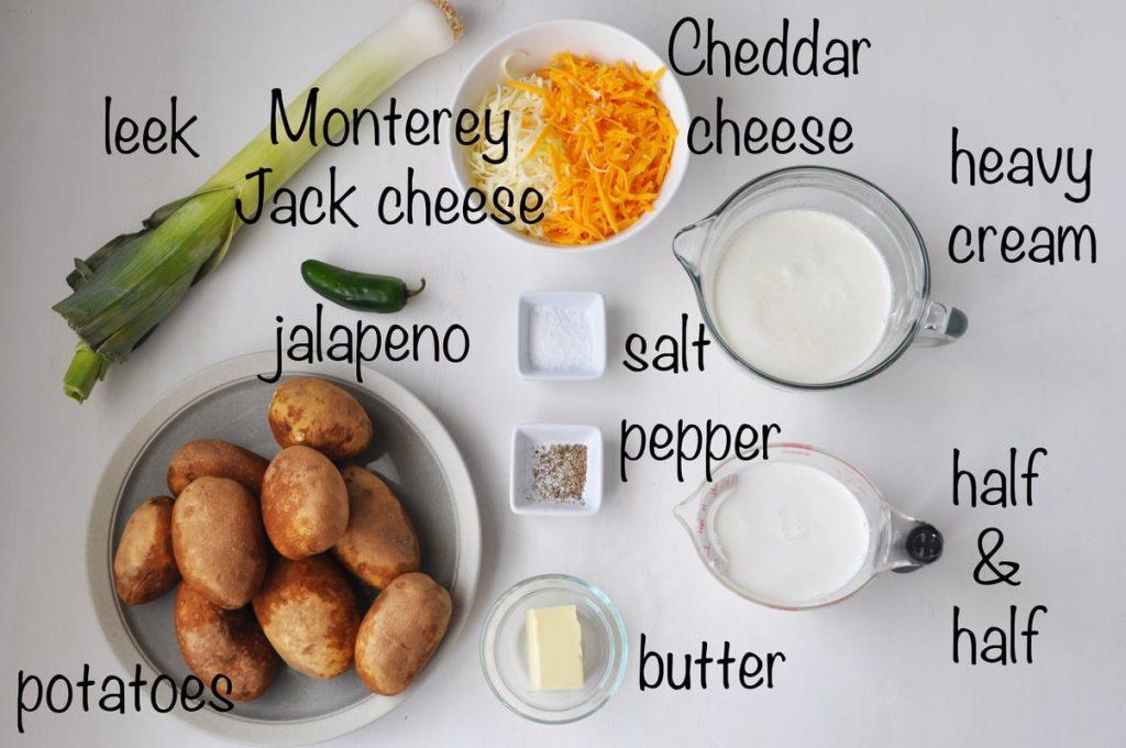 Fleming's Potatoes ingredients