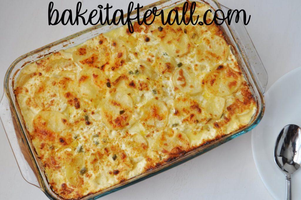 Fleming's Potatoes casserole dish