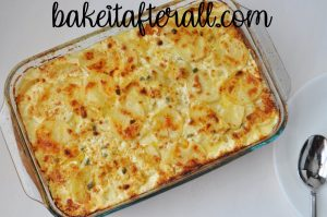 Fleming's Potatoes casserole dish