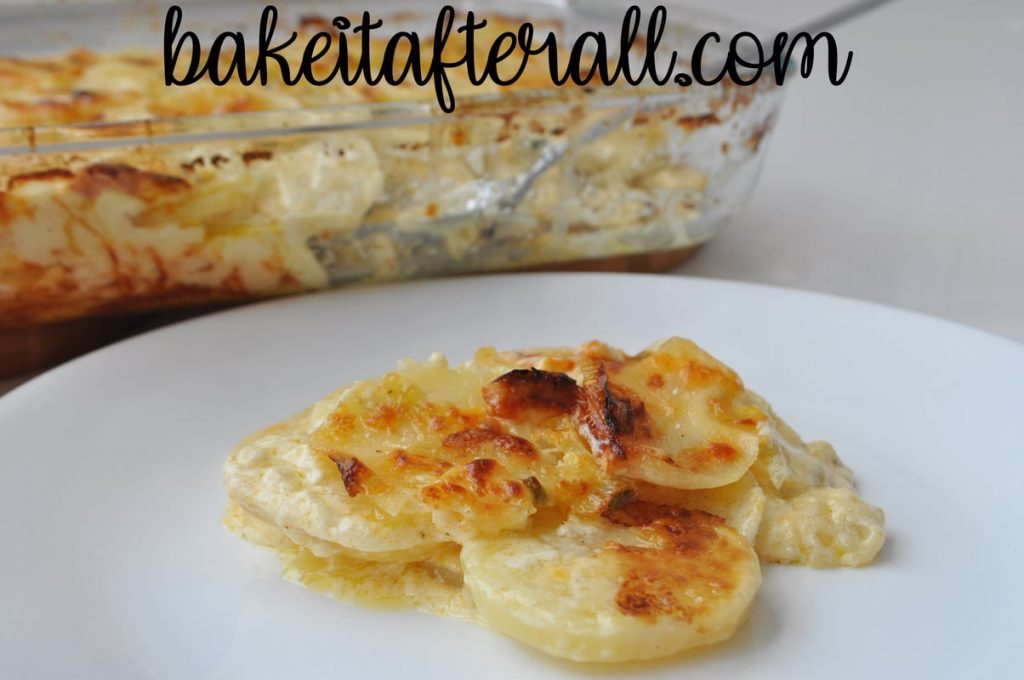 Fleming's Potatoes Copycat on a plate