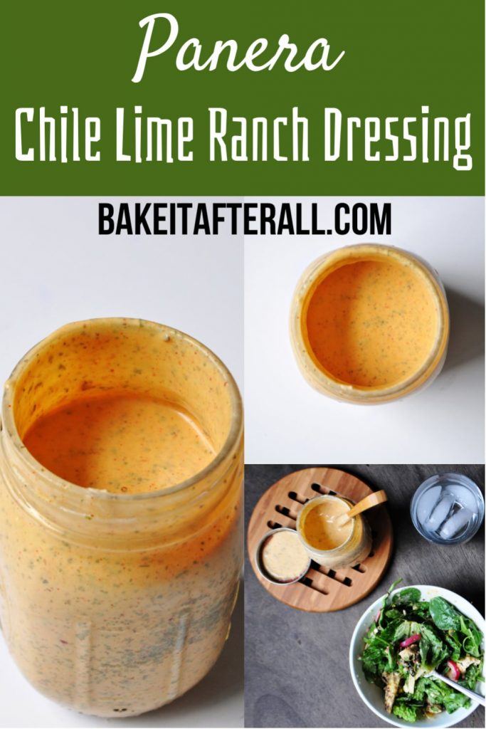 Panera Chile Lime Ranch Dressing PIN