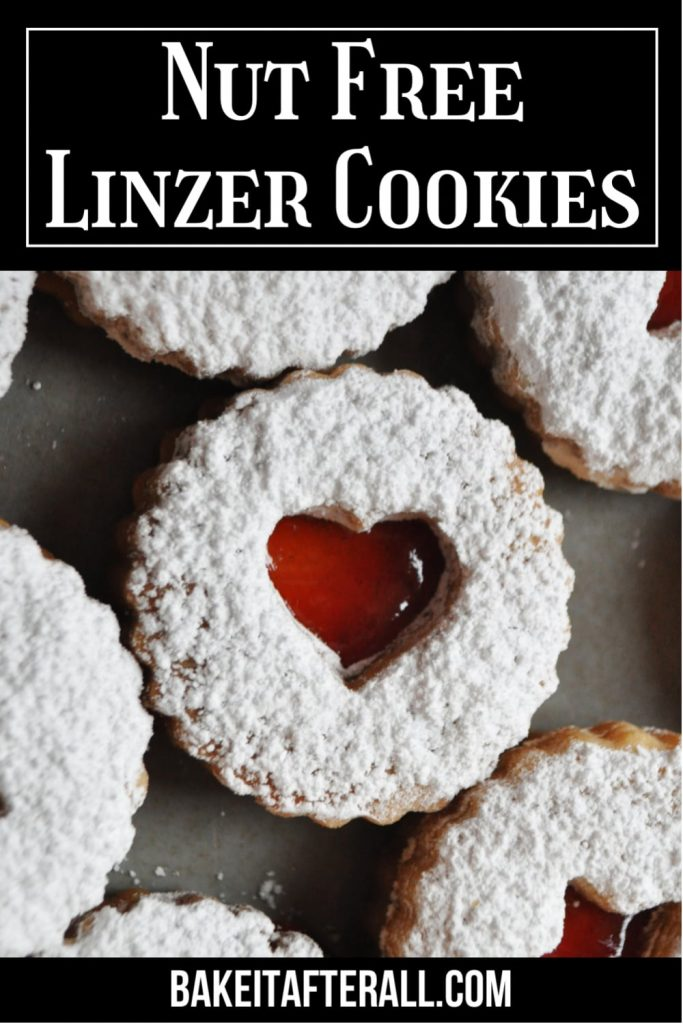 Nut Free Linzer Cookies Pin