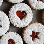 Nut Free Linzer Cookies square picture